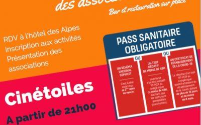 Forum des associations et Cinétoiles