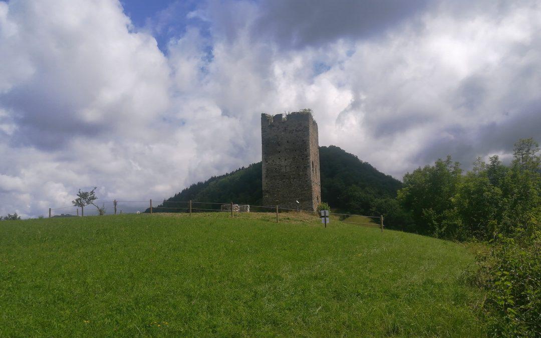 Mise en place d'une clôture à la tour de Montfallet